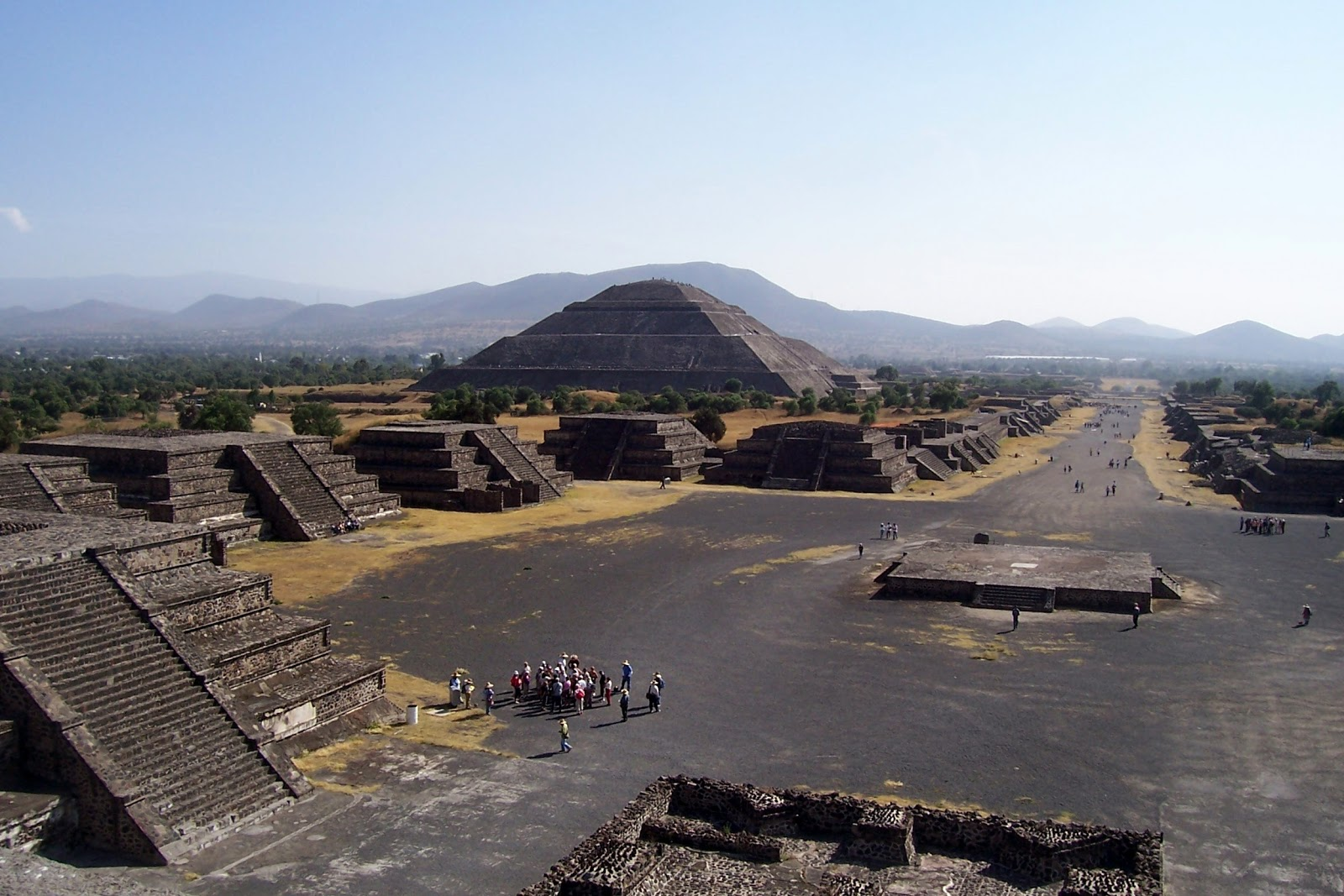 The Pyramids of Teotihuacan in Mexico
