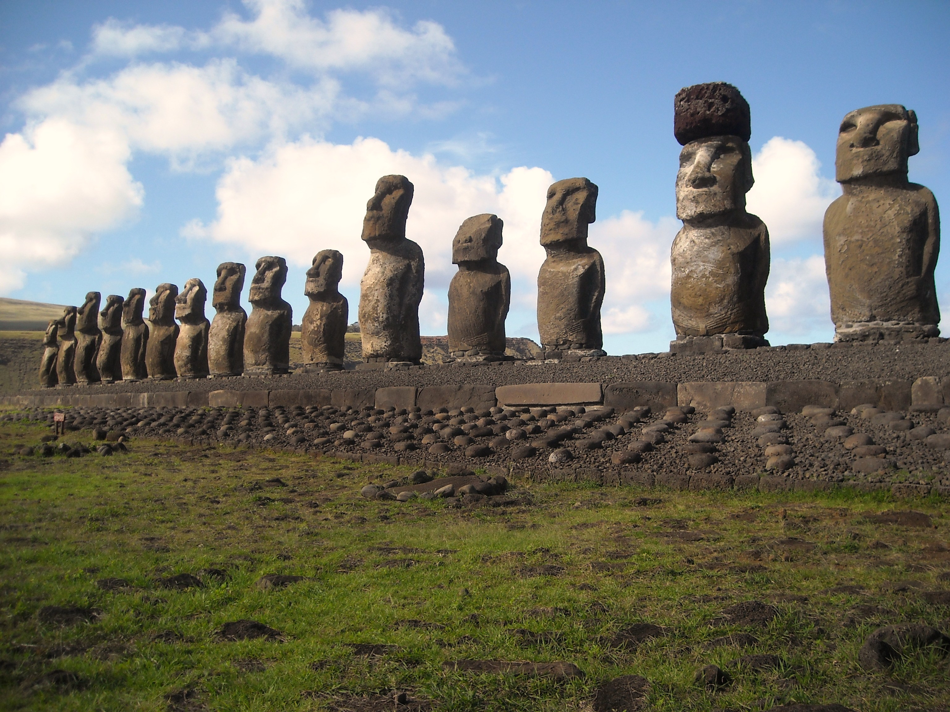 The Moai of Easter Island