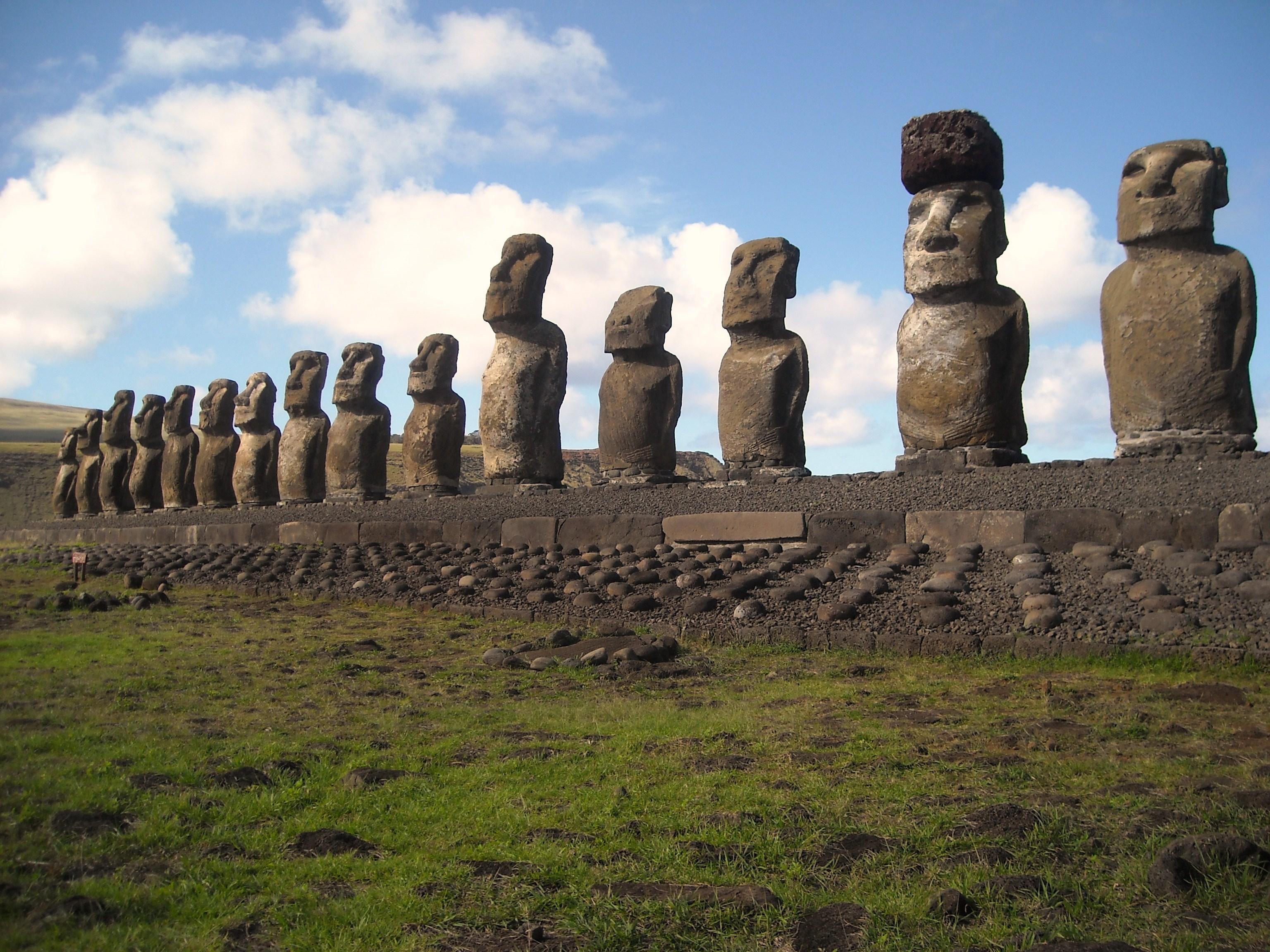 The Moai of Easter Island
