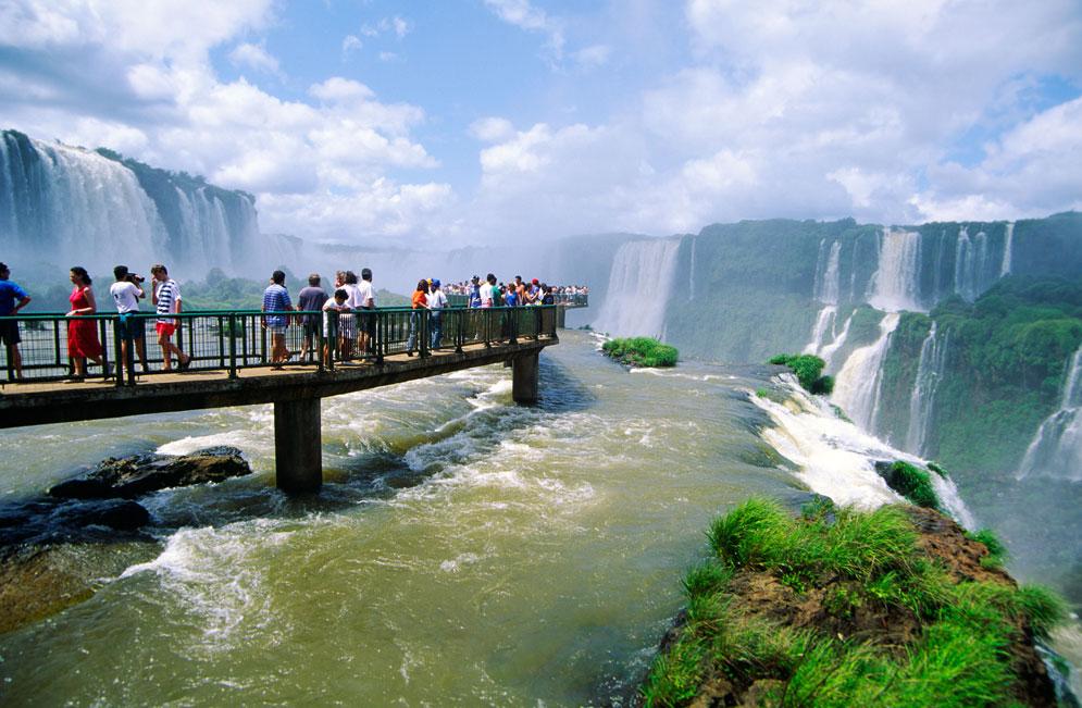 The Iguazu Falls 2