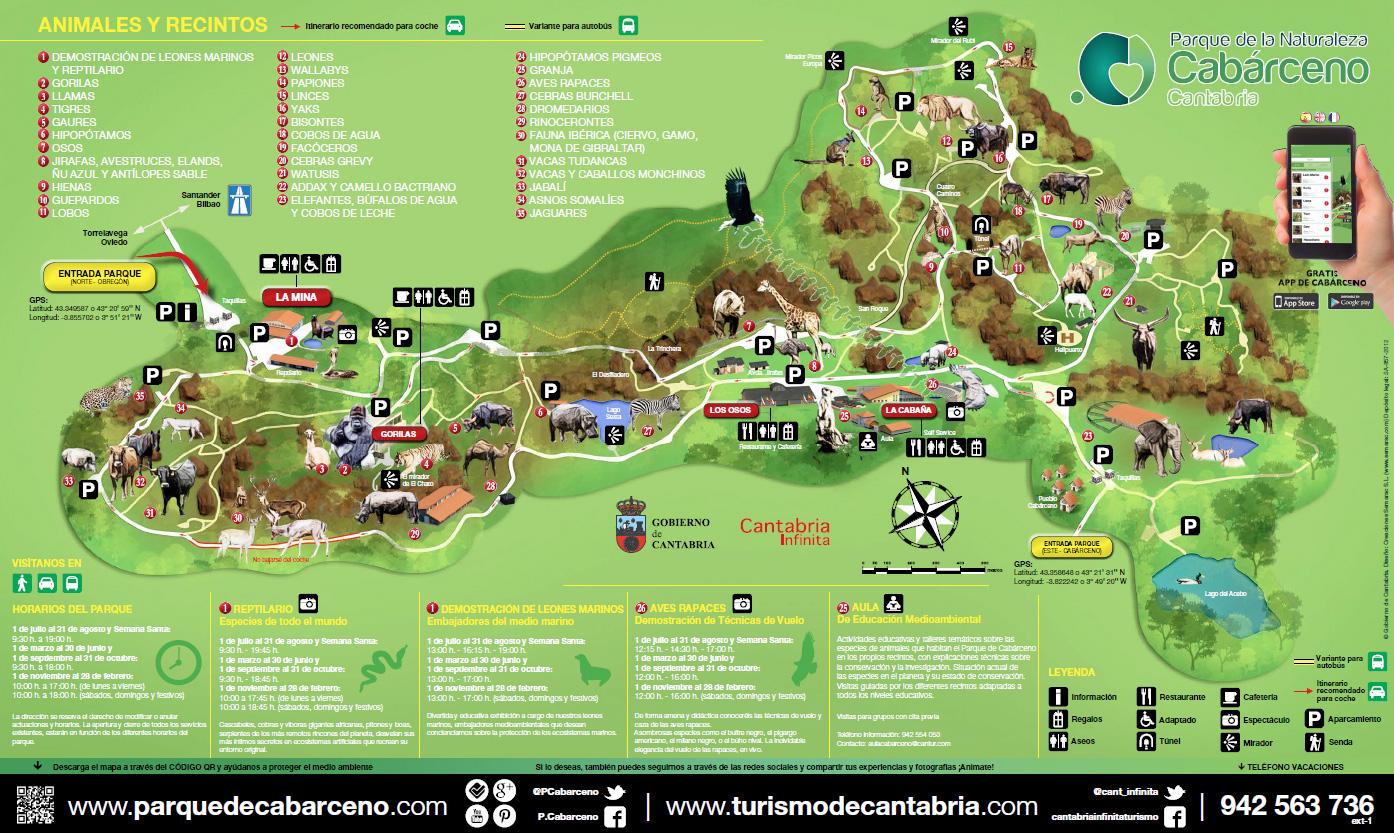 Cabarceno Natural Park in Spain 4