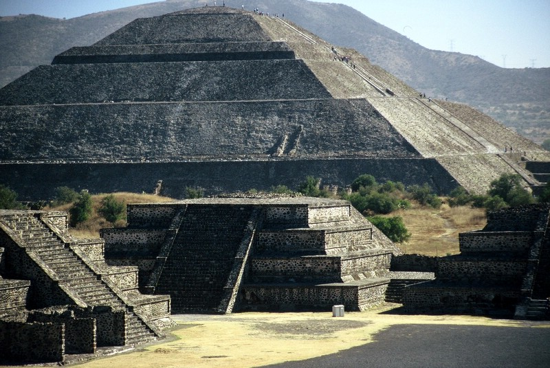 The Pyramids of Teotihuacan in Mexico 2