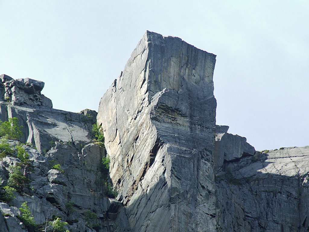 Preikestolen Cliff in Norway 3