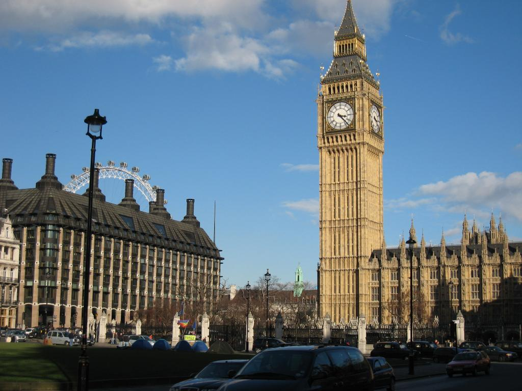 The Big Ben in London 2