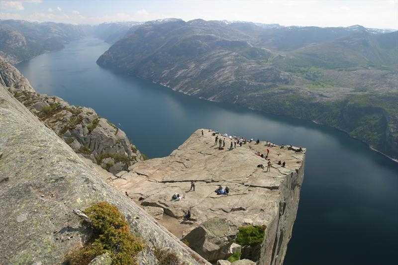 Preikestolen Cliff in Norway 2