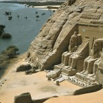 The Great Temple of Abu Simbel in Egypt