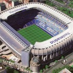 Santiago Bernabeu Stadium in Madrid, Spain
