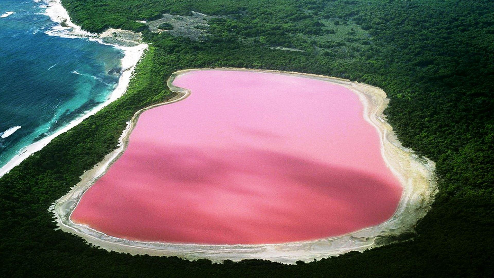 Natural-Pink-Lake