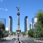 The Angel of Independence in Mexico