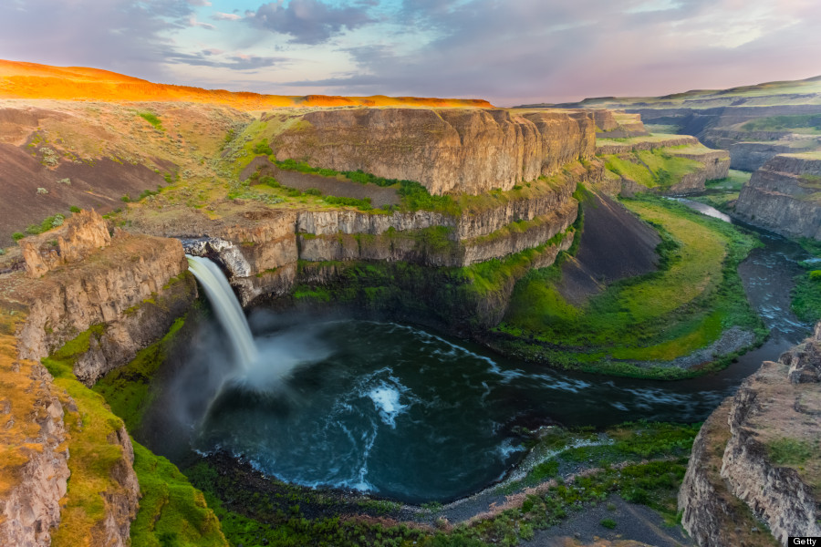Palouse Falls in Washington, United States