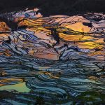 The rice terraces of Yuanyang, in China