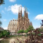 Sagrada Familia in Barcelona, ​​Spain
