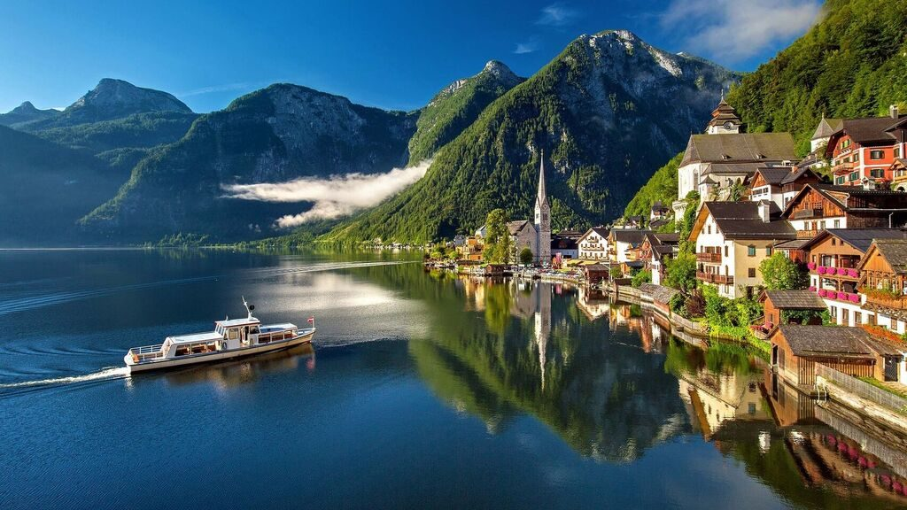 Hallstatt, a dream town in Austria