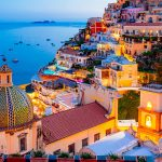 The Amalfi Coast, the beautiful coastal area in Italy