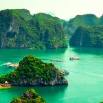Halong Bay in Vietnam, natural wonder of the world