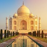 The Taj Mahal, a love story in India