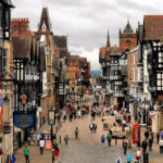 Chester, the walled and magical english city, England