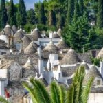 Alberobello, the village of Trullos, strangest and most picturesque in Italy.