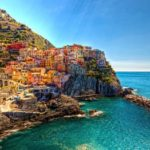 Manarola, the most colorful little town in the world in Liguria, Italy