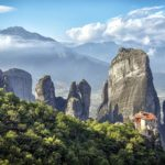 Meteora, Greece. Where the earth caresses the sky.